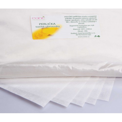 PERLICKA DRY WIPES – small (in a resealable plastic bag)m