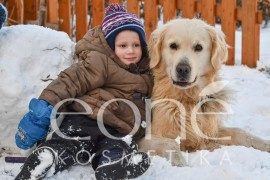 Natural cosmetic winter care for children's skin . . .